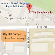 Bicycle Cellar Map