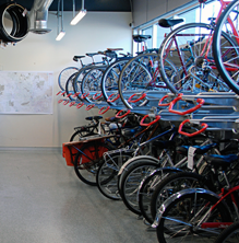 Bike Racks & About | The Bicycle Cellar