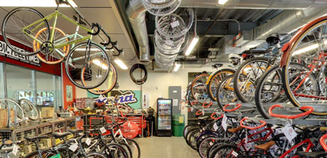 The Bicycle Cellar | BIKE  PARK  SHOWER  GO!